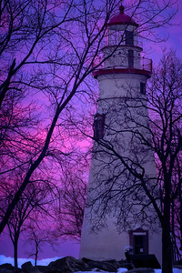 Sunrise at the Marblehead lighthouse