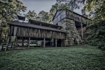 Buckeye Furnace in HDR