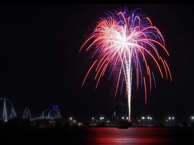 Fireworks at Cedar Point