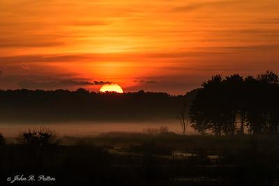 Mentor Lagoons sunrise
