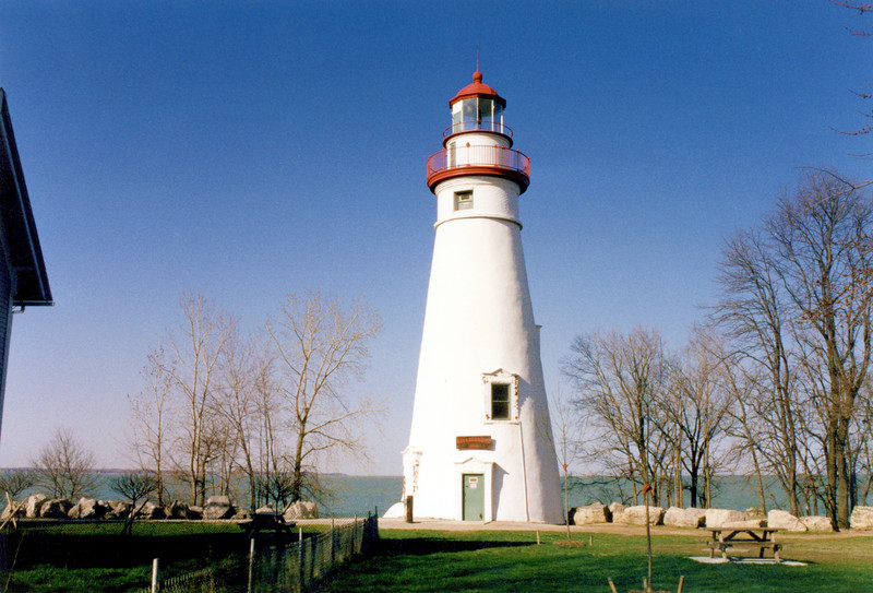 The tower and dwelling underwent a $500,000 restoration beginning in 2001.  The 3½ Order Fresnel lens was returned to the Keepers house in 2004.  The light continues to shine from the Great Lakes oldest tower in continuous operation.  Open houses are held from June through September which allows visitors to climb the 87 step staircase for a spectacular view.