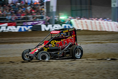 Brad Sweet 1R at the 2019 Chili Bowl Nationals