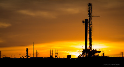 West Texas Oil Field