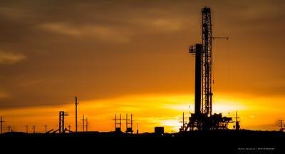 West Texas Oil Field