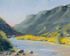 "Gentle Afternoon  on the Rio Grande       8""x10""    Oil        Plein Air"