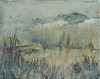 "Fog on the Dunes   8""x10""   Oil  Plein Air"