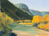 "Early Morning Rio Grande         9""x12""      Oil     Plein Air"