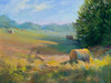 "Bob and Kathy's Farm          9""x12""  Oil Painting"
