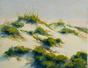 "Morning Dunes  Henderson Beach  8""x10""  Oil  Plein Air"