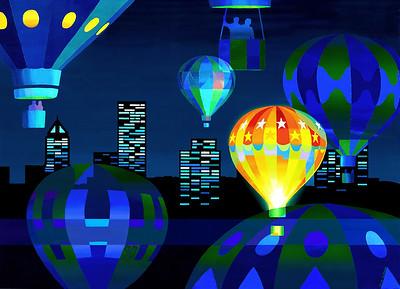 """Balloons over Portland"""