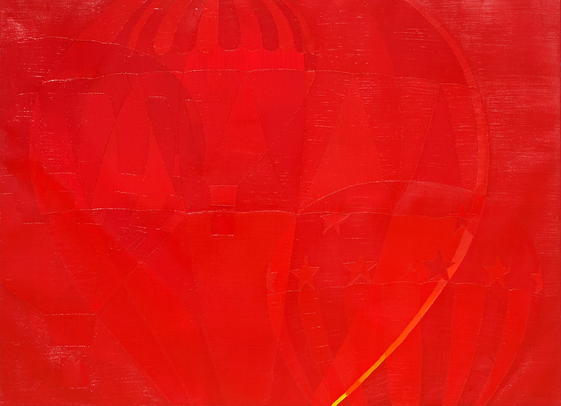 """""""Red Field"""" (Balloons)"""