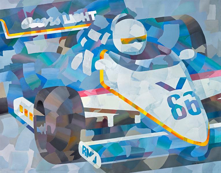 """Coors Light Race Car"""
