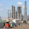 Oil refinery in Rotterdam, Holland