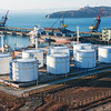 The petrochemical terminal for loading of chemicals on a vessel