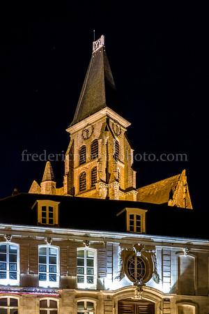 Clocher de l'église de Clermont