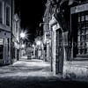 Compiègne by night in B/W ...