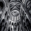 Inside of Cathedral Notre Dame of Senlis