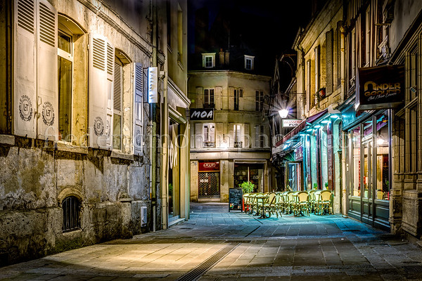 Compiègne by night ...