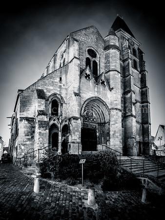 Church St-Sanson of Clermont (OISE)