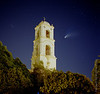 Comet Halle Bopp Post Office Tower Ojai Valley  Color of Ojai   , Light & Spirit