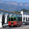 Trolley down town Ojai Valley  Color of Ojai   , Light & Spirit