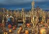 Halloween wonder in Boccali Pumpkin Patch