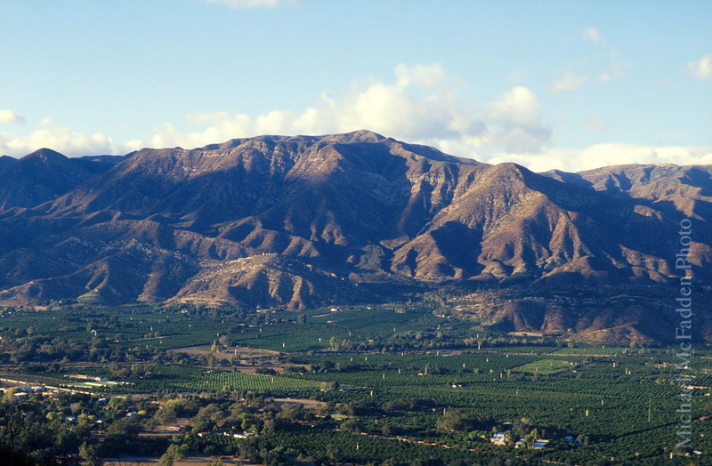 Ojai Valley from Shangril La Viewpoint Color of Ojai