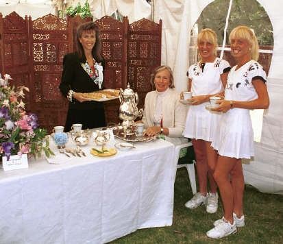 Tea Tent Ojai Tennis Tournament