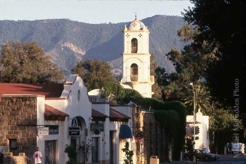 Post Office Tower from Signal Street Ojai Valley  Color of Ojai   , Light & Spirit
