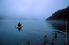 Kayaking in Mist on Lake Casitas Ojai Valley  Color of Ojai   , Light & Spirit
