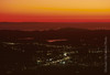 Twilight on Ojai Valley from Nordhoff Ridge Ojai Valley  Color of Ojai   , Light & Spirit