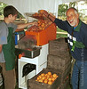 Making Orange Juice, Ojai Valley