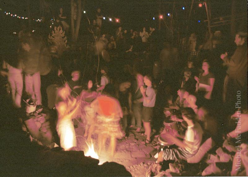 Solstice Drum Circle Ojai Valley  Color of Ojai   , Light & Spirit
