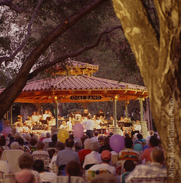 Libbey Park Summer Band Concerts Ojai Valley