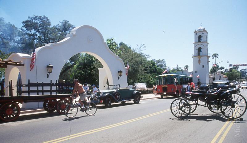 Ojai Valley  Downtown Pergola Color of Ojai  ,