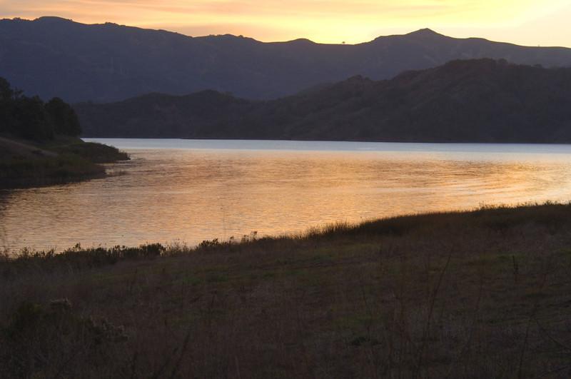 LAKE CASITAS SUNSET-3
