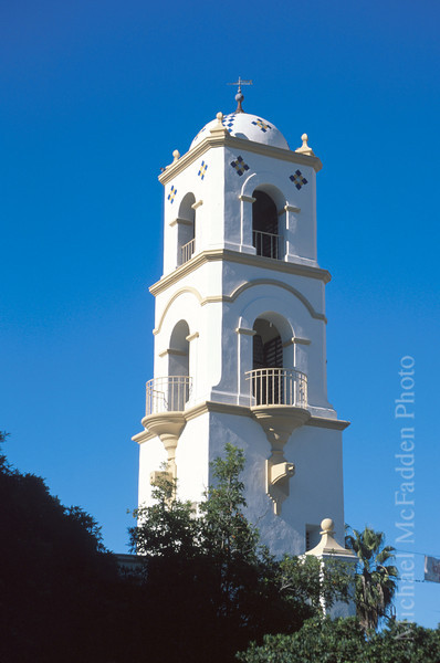 Landmark Post Office Tower Ojai Valley  Color of Ojai   , Light & Spirit