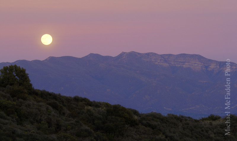 topa topa dec moonrise