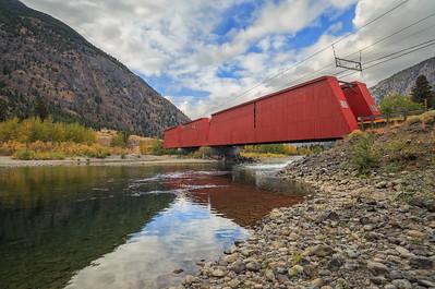 The Red Bridge Wide
