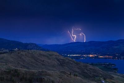 Oroville Lightning Storm