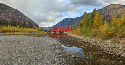 Keremeos Red Bridge Pano I - 2017