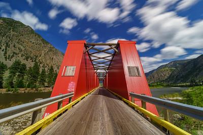Keremeos Red Bridge Longexpo