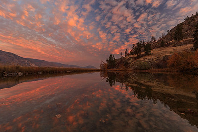 Skaha Pond Epic Sunrise