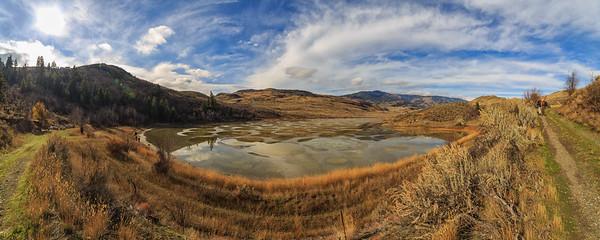 Spotted Lake - Shoreline Pano