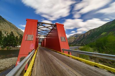 Keremeos Red Bridge Longexpo 2