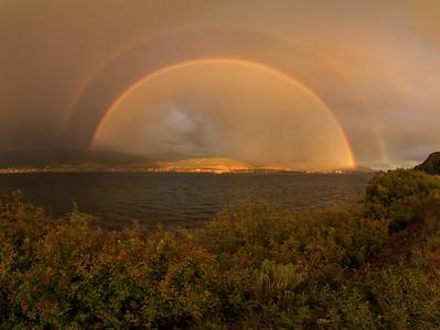 Okanagan Double Rainbow