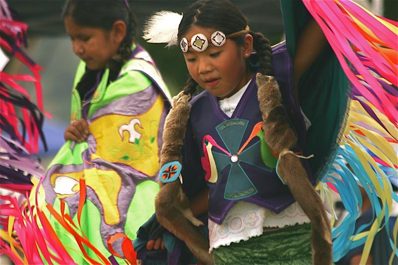 Tribal dancers at the Omak Stampede
