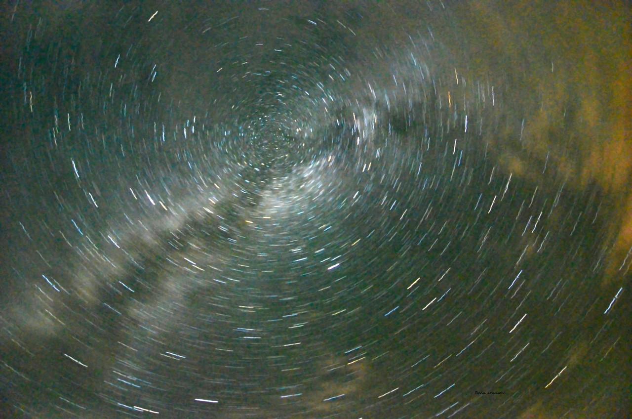 Swirls Above Stephen C Foster Okefenokee