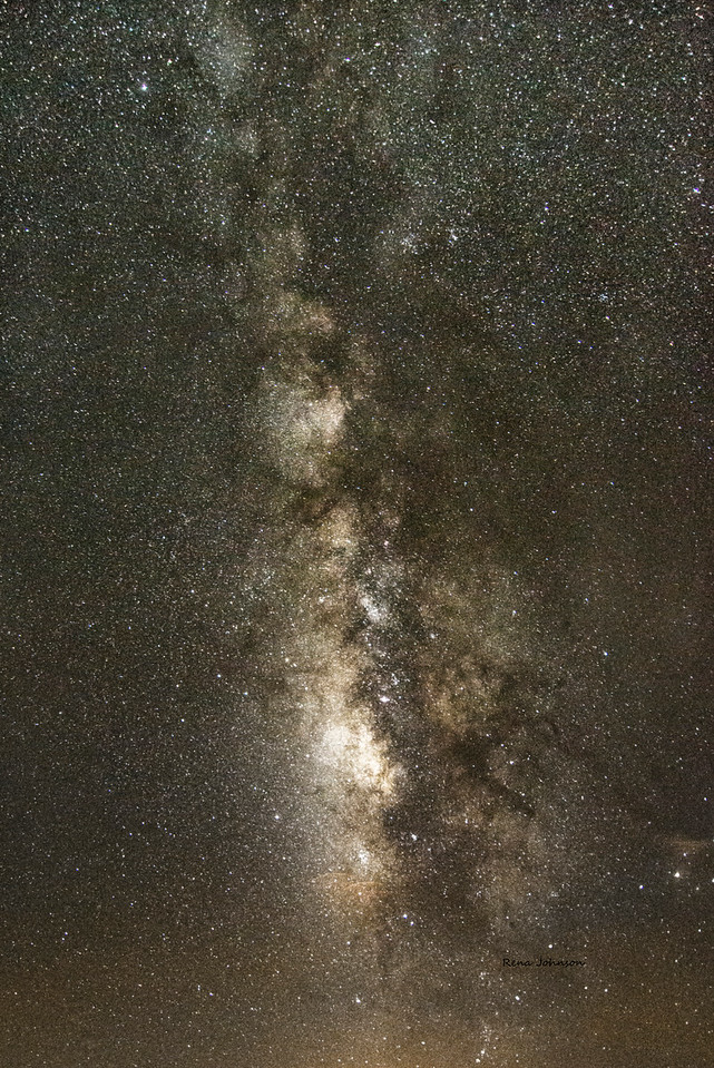 Dark Sky over Stephen C Foster and Okefenokee