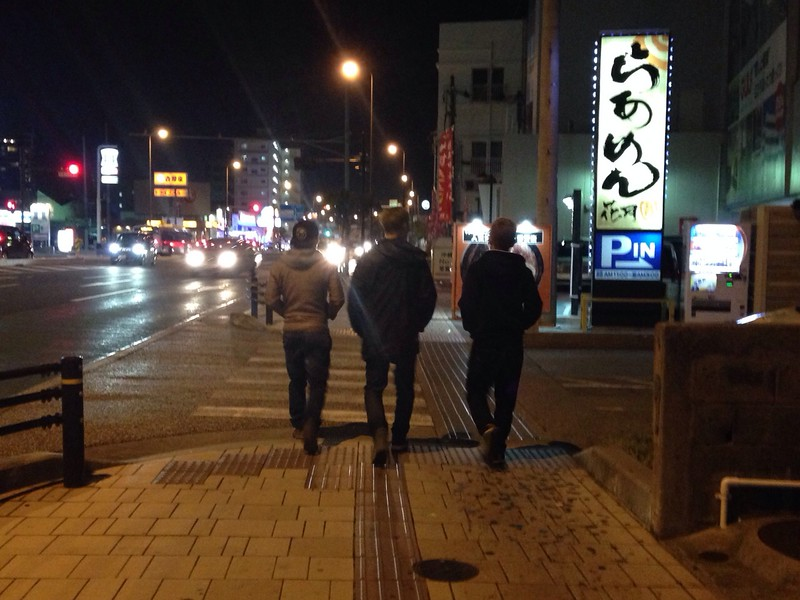 Roaming the streets of Okinawa